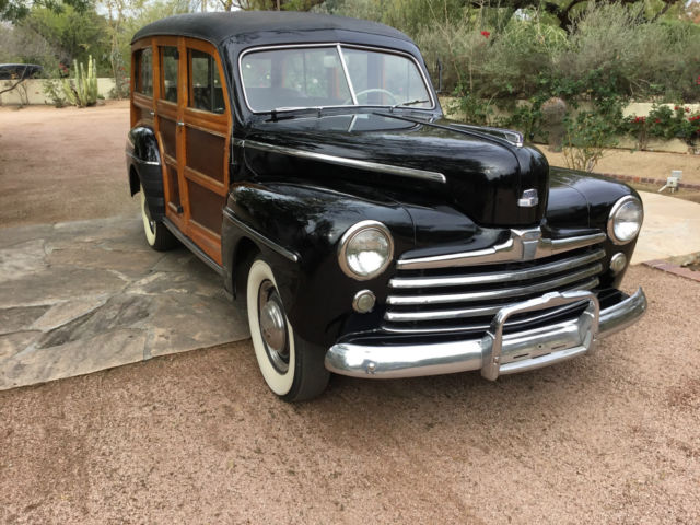 ford wood panel station wagon for sale autos post. Black Bedroom Furniture Sets. Home Design Ideas