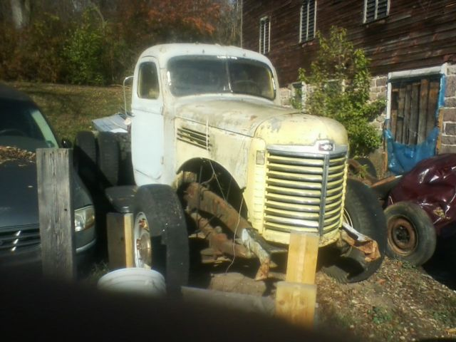 1947 International Harvester Kb 10 For Parts Truck Not