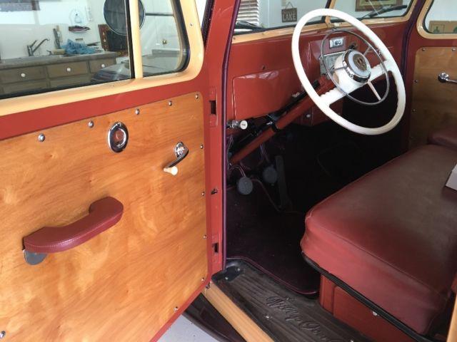 1947 Willys Station Wagon Interior – Billy Knight