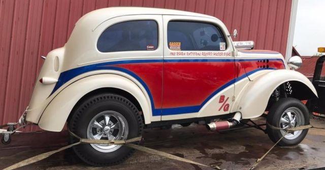 Anglia Ford Gasser Replica