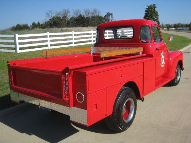 1948 chevrolet thriftmaster truck short bed gas station 5 window rare truck for sale. Black Bedroom Furniture Sets. Home Design Ideas