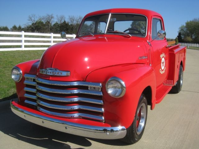 1948 chevrolet thriftmaster truck short bed gas station 5 for 1948 5 window chevy truck sale