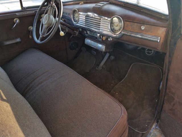1948 Chevy Fleetmaster 2 Door Sedan With Fleetline Trim