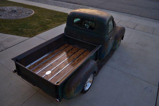 1948 chevy truck 3100 patina shop truck c10 apache not air