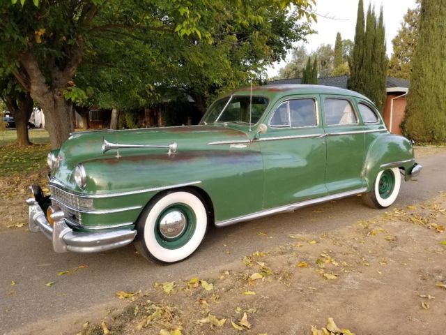 1948 Chrysler New Yorker 8 Cyl Four Door Sedan Original Unrestored For Sale Chrysler New Yorker 1948 For Sale In Wilton California United States