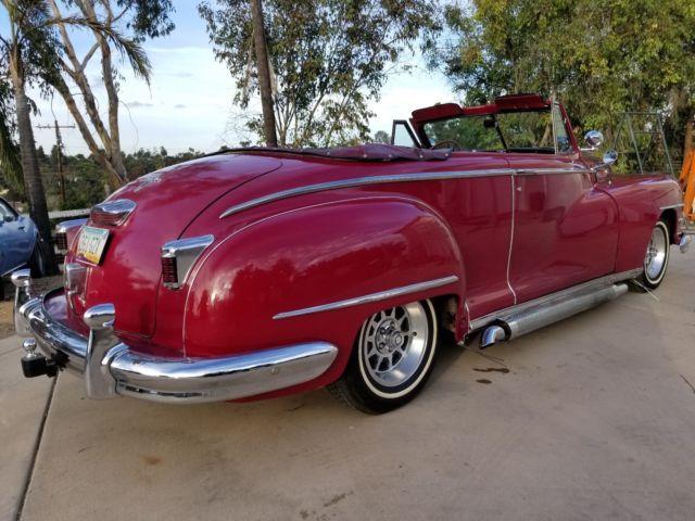 1948 Chrysler Windsor Convertible,BEAUTIFUL RARE CUSTOM ...