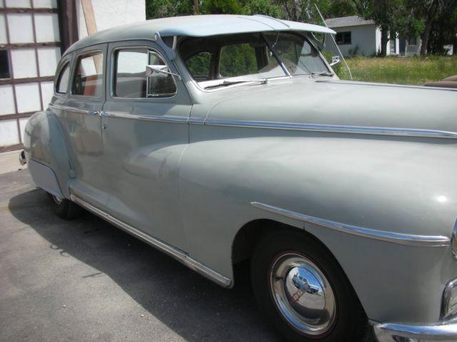 1948 dodge 4 door sedan beautiful upholstery suicide for 1948 dodge deluxe 4 door
