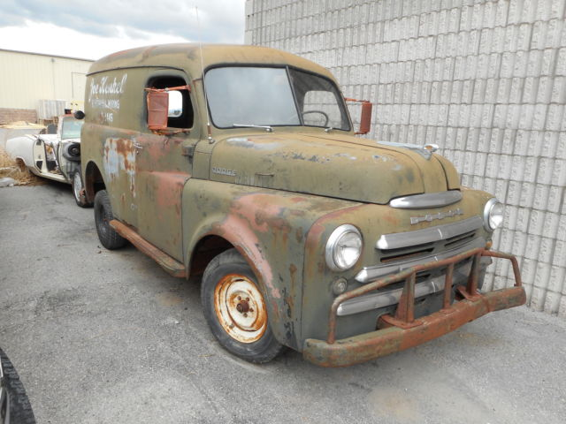 Northern California No Rust: 1948 DODGE PANEL DELIVERY TRUCK