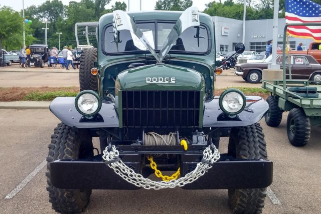 1948 Dodge Wagon Red Ful And Rugged B1 1 Ton Factory Winch For In Southern Usa United States