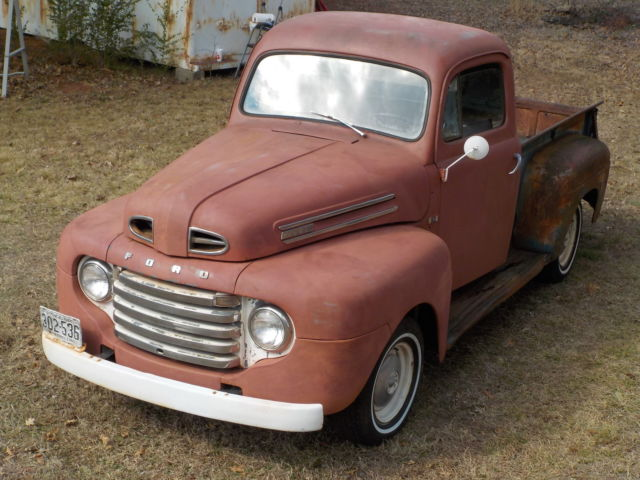 1948 ford f 1 pickup f 100 ford pickup truck 1948 ford f 1 shortbed pickup for sale ford. Black Bedroom Furniture Sets. Home Design Ideas