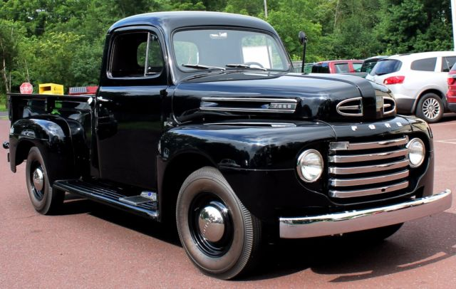 1948 Ford F2 Pick Up Truck Body Off Restored In Perfect