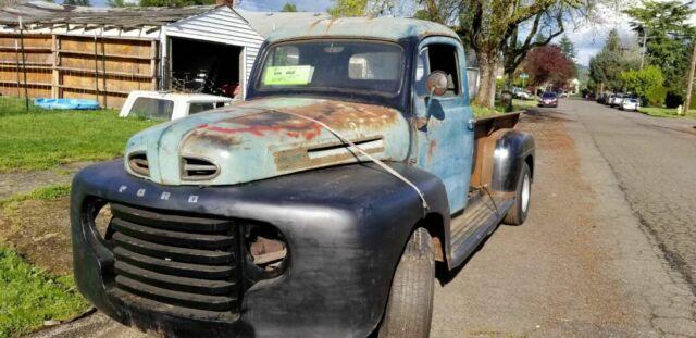 1948 Ford F2 Pickup Truck  Project Restomod  Custom Fab