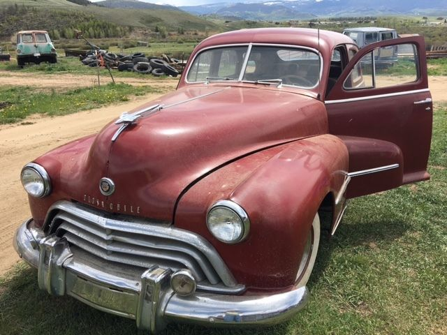 1948 oldsmobile model 78 4 door fastback sedan daily for 1948 oldsmobile 4 door sedan