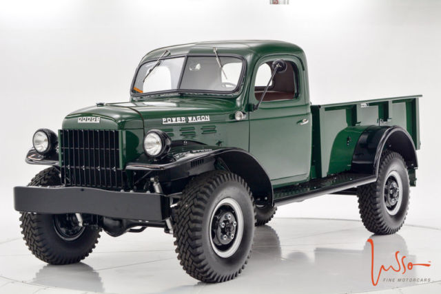 1948 power wagon fully restored documented for sale dodge power wagon 1948 for sale in. Black Bedroom Furniture Sets. Home Design Ideas