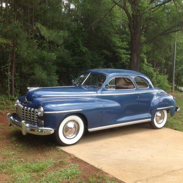 1948 True Survivor Dodge Custom Coupe For Sale Dodge