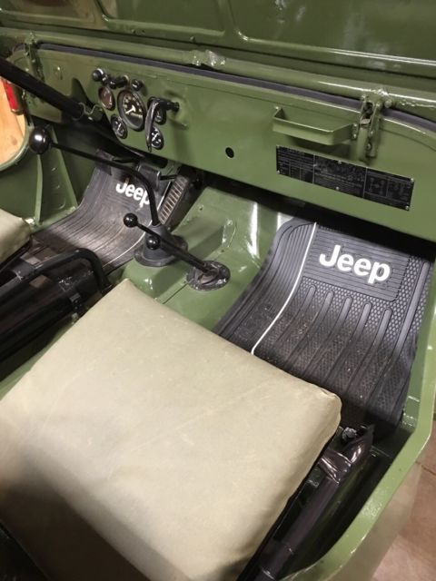 Jeep Willys For Sale >> 1948 willys cj2a jeep complete engine rebuild for sale ...
