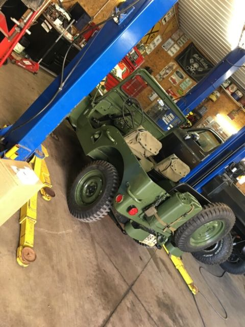 1945 Willys Jeep CJ2A Engine Running for the First Time ... |Jeep Cj2a Engines
