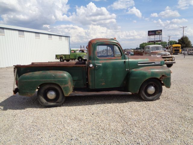 1949 49 Ford F 1 Short Bed Project Pickup Truck Rat Rod
