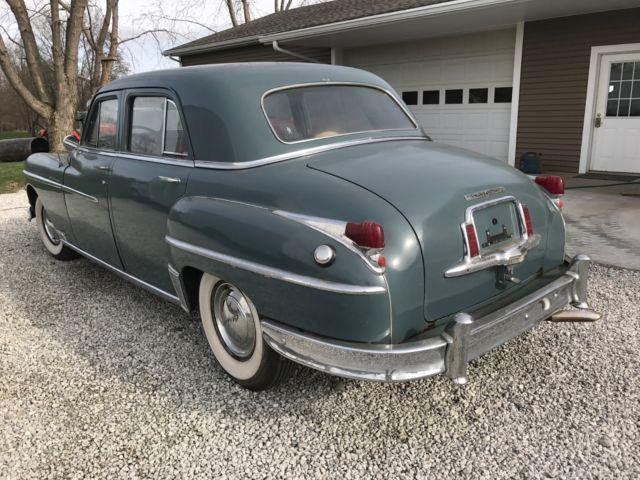 1949 Blue Chrysler New Yorker Fluid Drive Highlander For