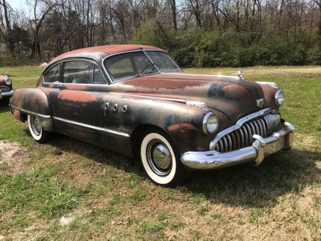 1949 Buick Super Sedanette And Running Parts Car For Sale