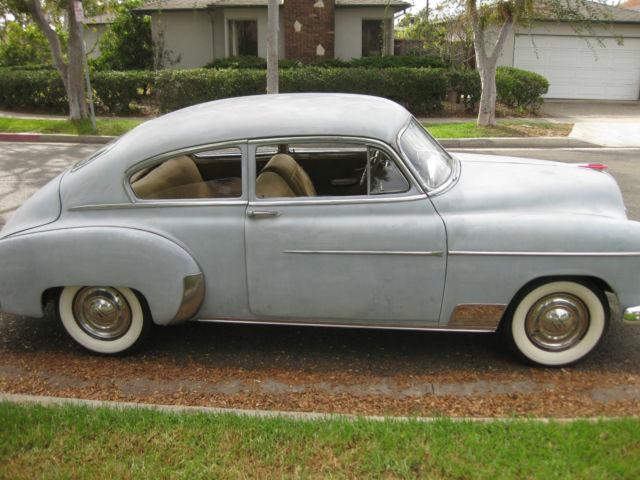 1949 Chevrolet Fleetline Deluxe Sedan 2 Door 235 For Sale
