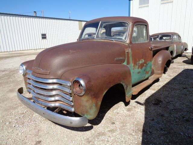 1949 Chevy 3100 Pickup Truck 1 2 Ton 5 Window Chrome Grill Patina Truck Project For Sale Chevrolet C 10 1949 For Sale In Great Bend Kansas United States