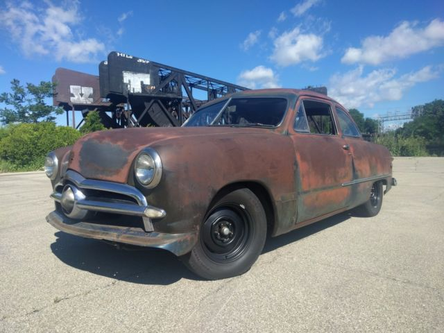 Ford Coupe Patina Hot Rod Rat Rod