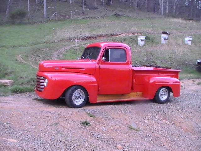 1949 Ford F1 Classic Pick Up Truck 1948 50 Hot Rod