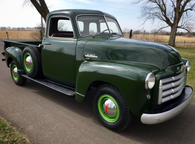 1949 gmc 150 3 4 ton pickup truck barn find hot rat rod chevrolet 1947 1953 1954 for sale gmc. Black Bedroom Furniture Sets. Home Design Ideas