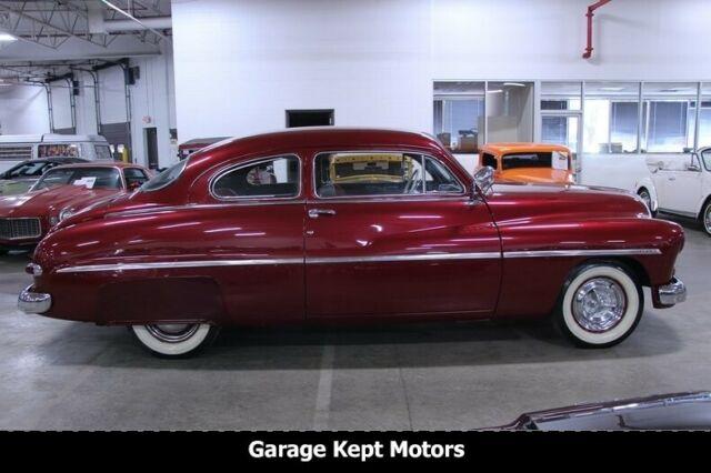 1949 Mercury Series 9CM 2-Door Coupe Maroon Coupe Flathead