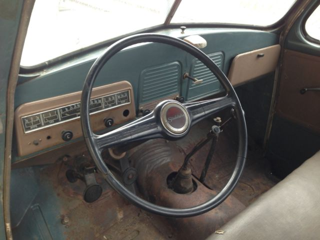 1949 studebaker 2r 16 1 5 ton completely original dually truck solid body for sale studebaker