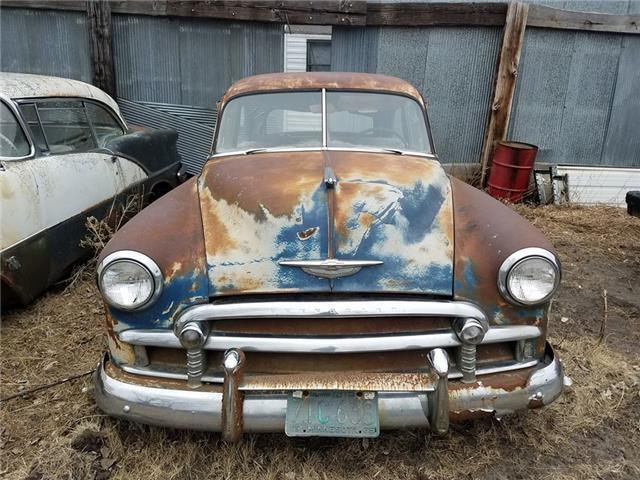1950 Chevrolet 2 Door Sedan 235 6 Cylinder 3 Speed For