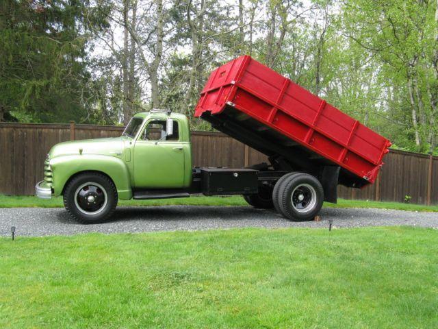 1950 Chevrolet 2.5 Ton 6400 Series Dump Truck for sale ...