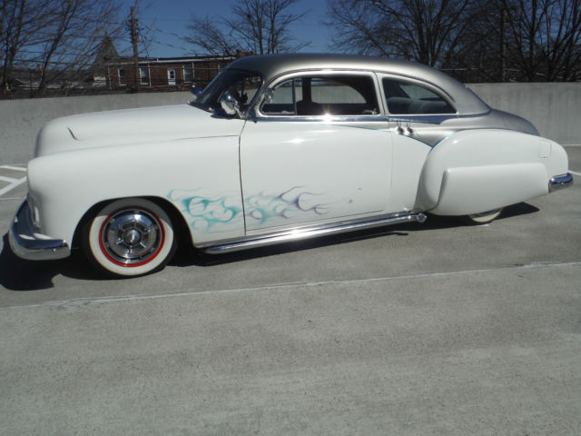 1950 Chevy 2 Door Custom Lead Sled Chopped Chop Top 1950