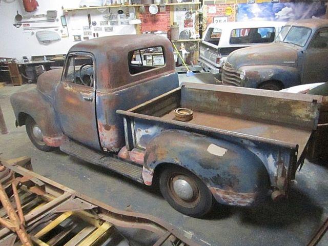 1950 Chevy 3100 Truck NO RESERVE Original Barn Find PATINA ...
