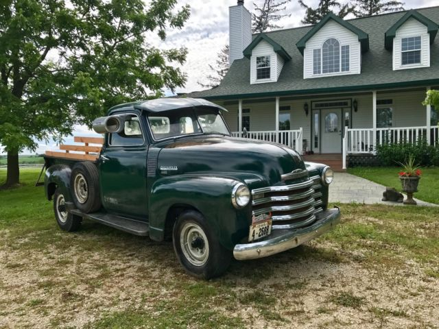 1950 chevy 5 window pick up truck original paint survivor for 1948 5 window chevy truck sale