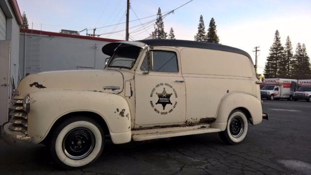 1950 Chevy Panel truck 3100 short pickup 47, 48, 49, 51 ...