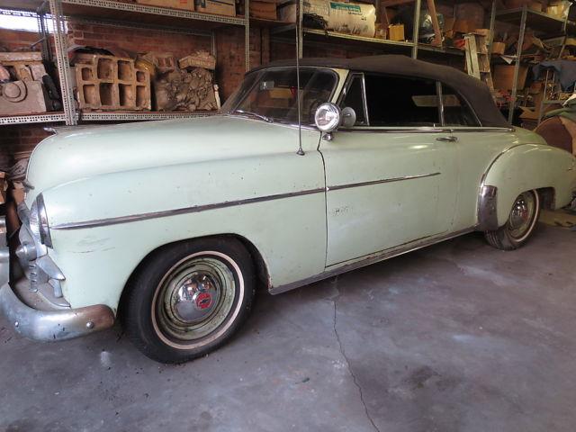 1950 chevy styleline deluxe 2 door convertible 30000 org for 1950 chevy deluxe 2 door
