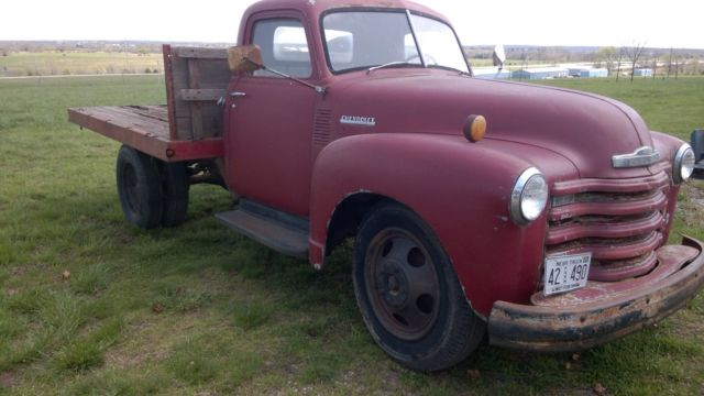 1950 chevy truck- Barn Find for sale - Chevrolet Other ...