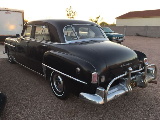 1950 chrysler all original 1 owner low mile south west for Motor mile auto sales