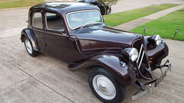 1950 Citroen Traction Avant 11bl For Sale Citro N Other 1950 For Sale In Houston Texas