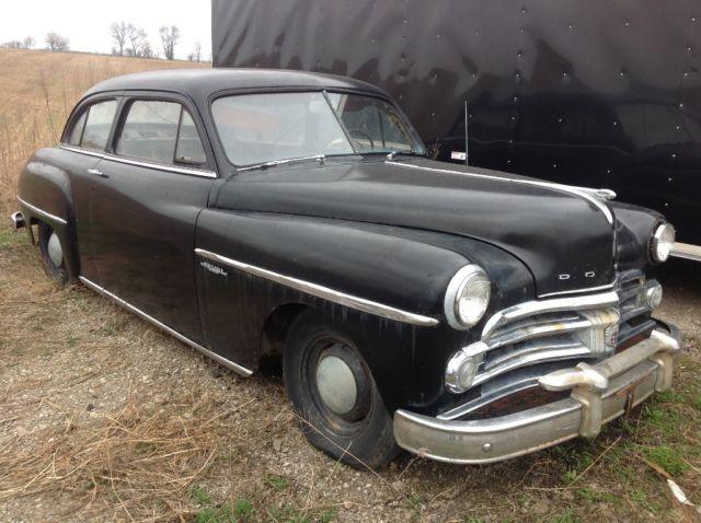 1950 dodge wayfarer 2 door hardtop antique street rod for 1950 dodge 2 door coupe