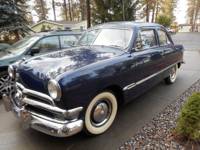1950 ford 2 door custom deluxe restored for sale ford for 1950 ford custom 2 door