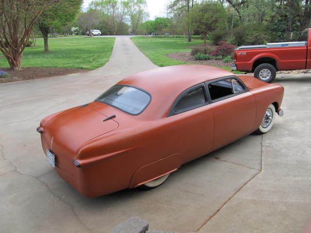 1950 Ford Custom Hot Rod Shoebox Chopped Rat Rod For Sale