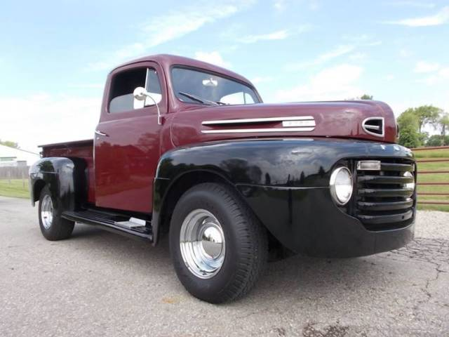 1950 ford f 100 shortbed pickup truck 351 winsor v8 automatic 4 sp ac ps pdb for sale ford. Black Bedroom Furniture Sets. Home Design Ideas