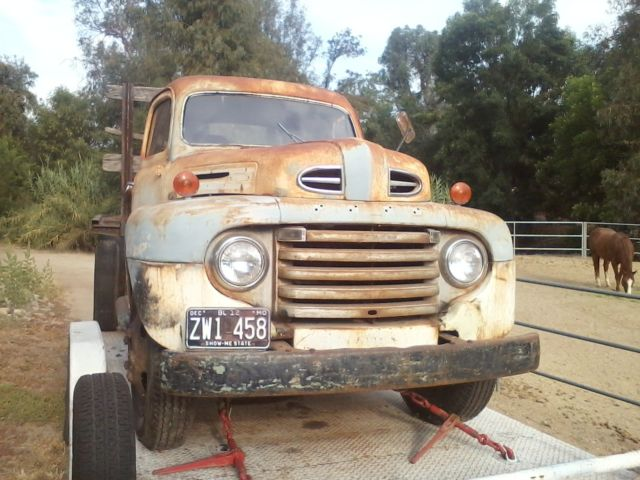 Ford F Factory Flatbed