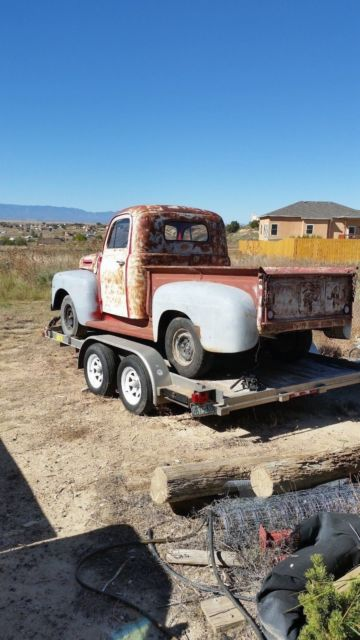 1950 Ford F1 Project No Reserve For