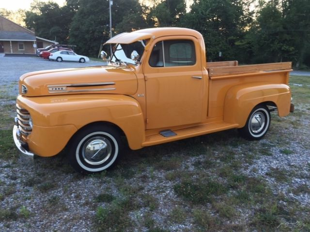 1950 ford f100 restored pickup truck flathead 8 cyl 3 on the tree manual trans for sale ford. Black Bedroom Furniture Sets. Home Design Ideas