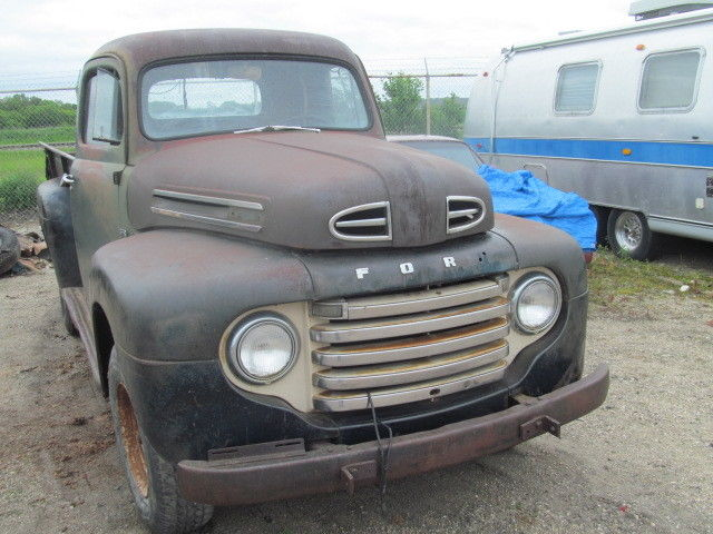 1950 FORD F68 F3 PICKUP TRUCK FOR RESTORE    VGC UNTOUCHED