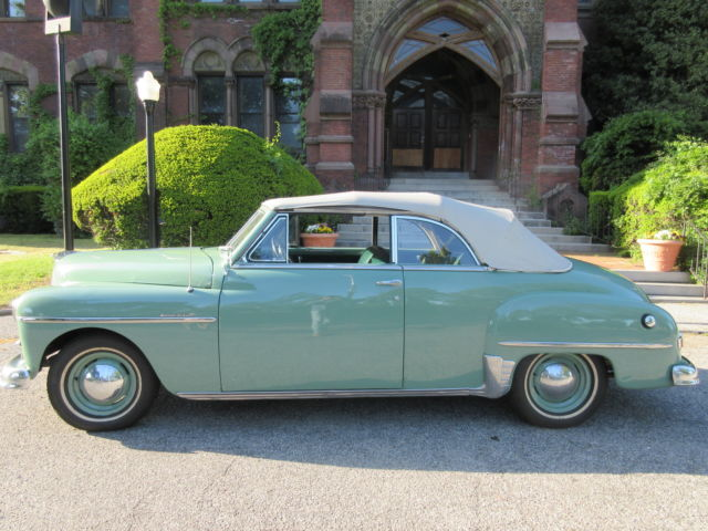 1950 Plymouth Seats : Plymouth special deluxe convertible for sale